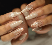 Long Gel Nail Designs