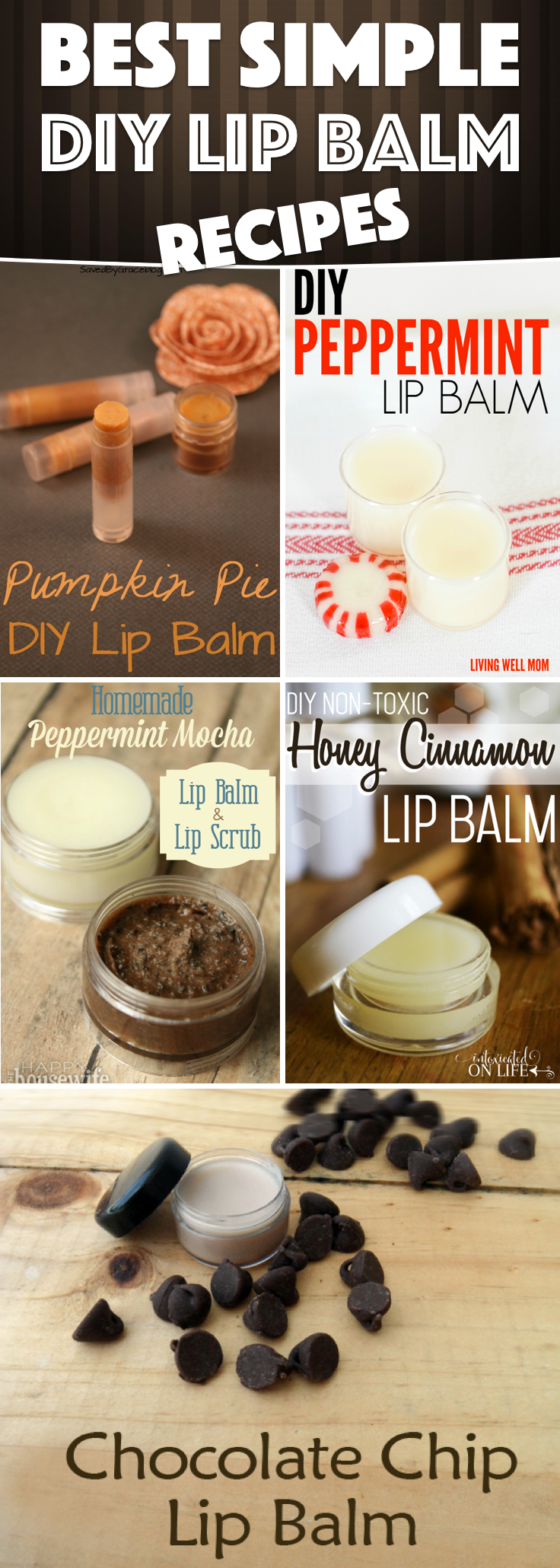 Diy Lip Balm Flavors Make Your Own Diy Lip Balm