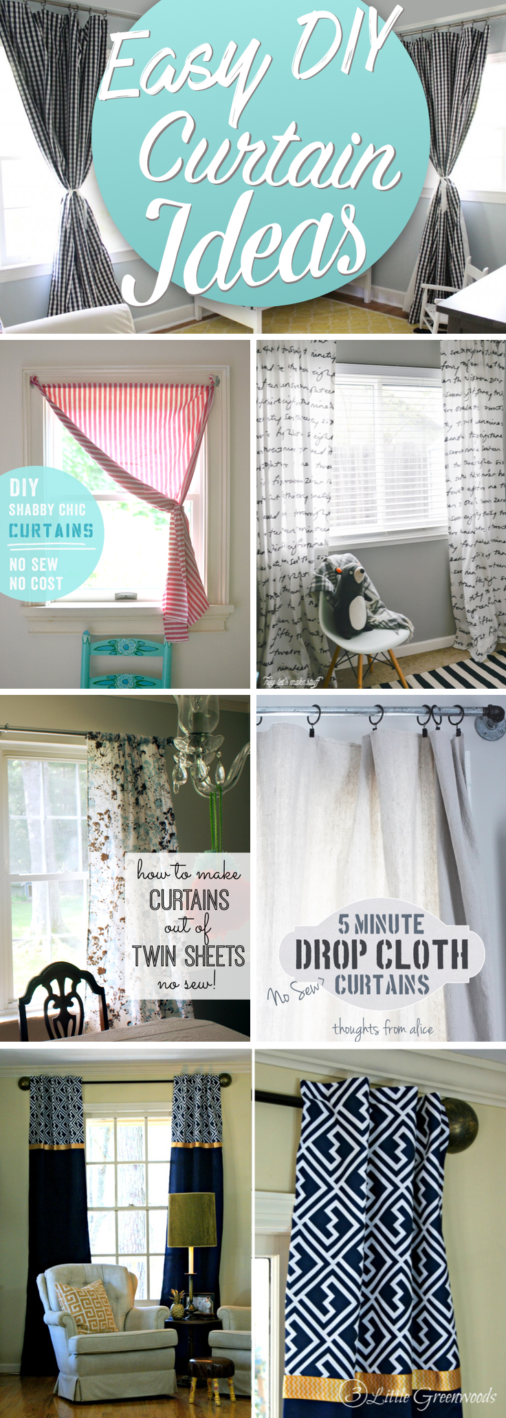 Make Curtains 20 Awesome Inspirations For Crafting Diy Curtains All By Yourself