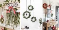 Best 30 DIY Christmas Wall Decor Ideas