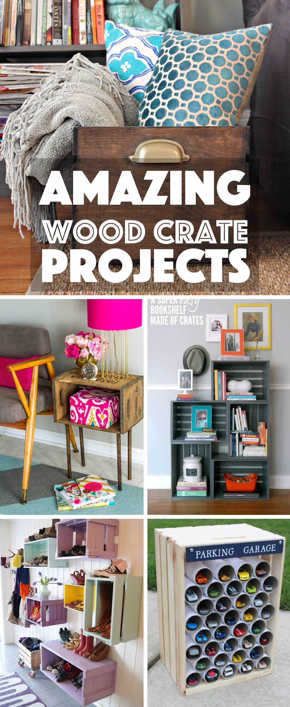 Amazing Wood Crate Projects That Range From Decor To Storage And More