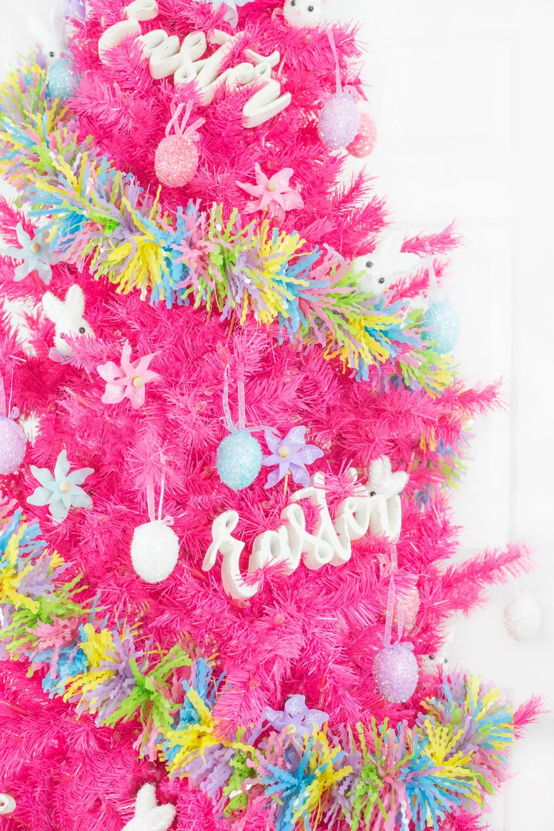 Easter Tree Decoration Ideas Cutefetti