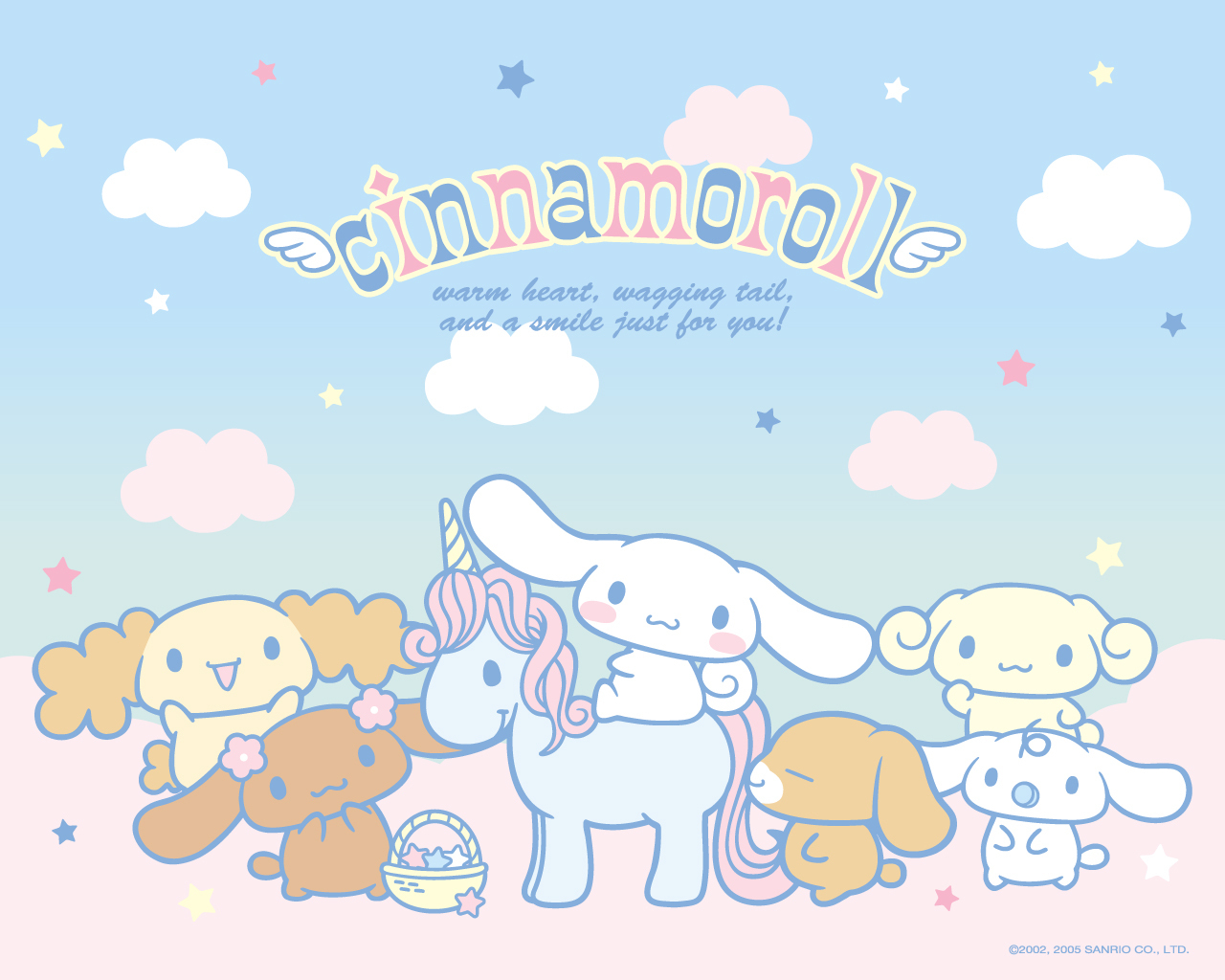 Cute Little Kitten Desktop Wallpapers Cinnamoroll Wallpapers Cute Kawaii Resources