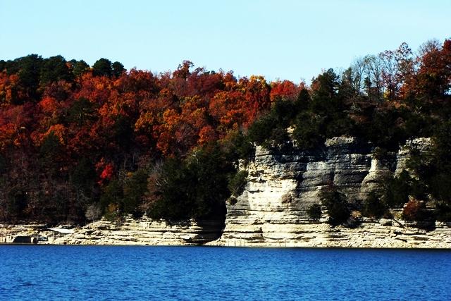 Fall On Beaver Lake Arkansas