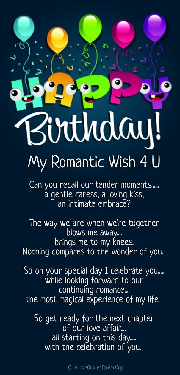 happy birthday love poems for him word Pinterest Happy - best of is invitation to tender