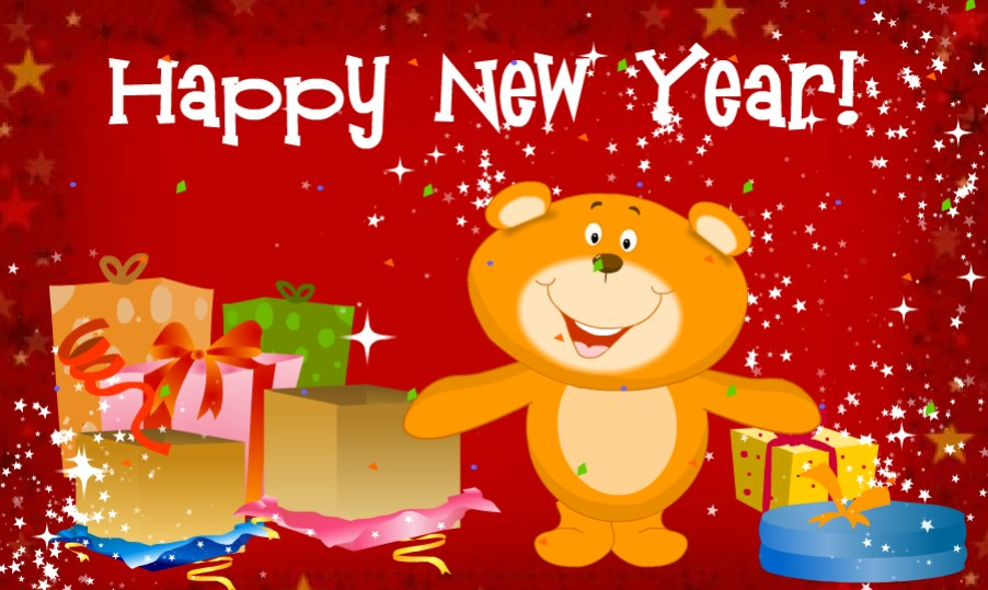 75 Happy New Year 2020 Greeting Cards, eCard Messages for Her / Him