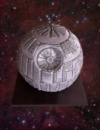 Star Wars Death Star Cake   Cake Cupcakes and Cookies