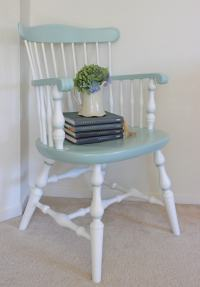 Chair Upcycle - Cutesy Crafts