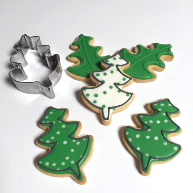Cookie Cutters Leaf Or Christmas Tree Cookie Cutter S/s - Cuttercraft