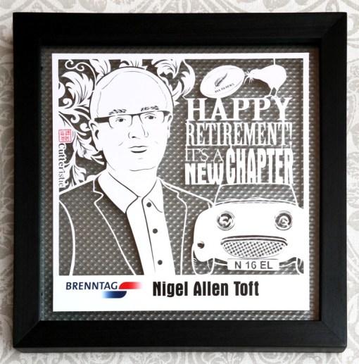 Cutteristic - Corporate Gift Brenntag Nigel Allen Toft 1