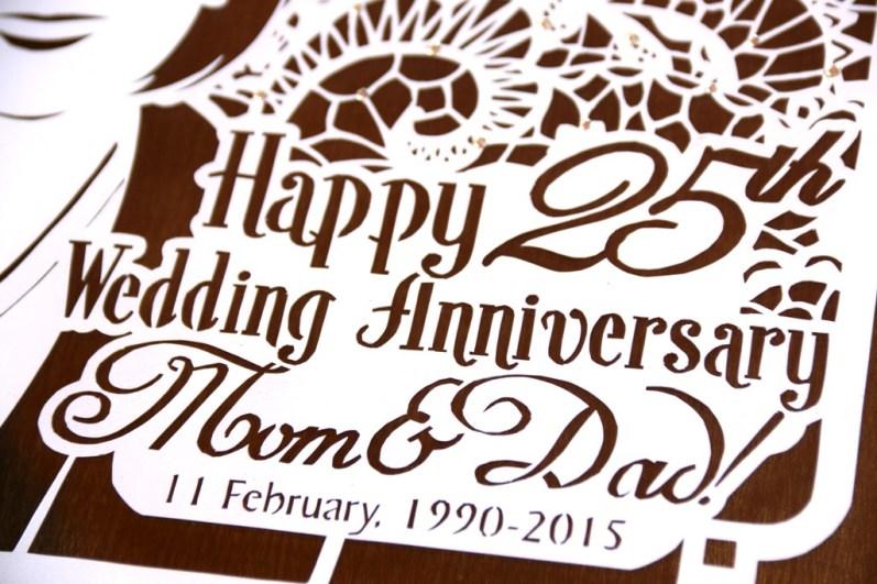 Cutteristic - Wedding Anniversary Gift Brokat 6