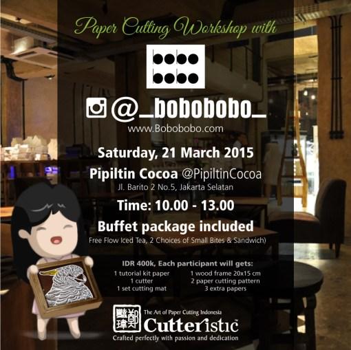 Cutteristic - Workshop bobobobo instagram