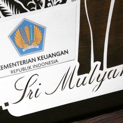 Cutteristic - Kado Ulang Tahun Menteri Keuangan Sri Mulyani Indrawati 3
