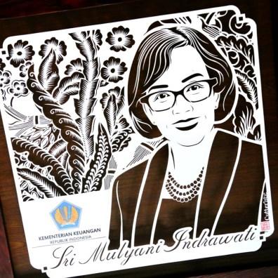 Cutteristic - Kado Ulang Tahun Menteri Keuangan Sri Mulyani Indrawati 8