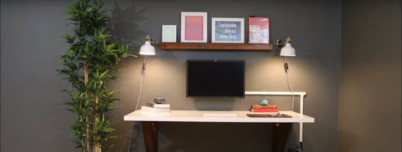 Diy Wall Mounted Desk