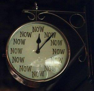 The Time Is Now