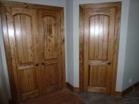 Custom Wood Interior Door Trim - Cutting Edge Construction
