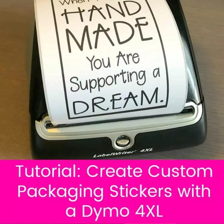 Tutorial How to Create Custom Packaging Stickers with a Dymo 4XL