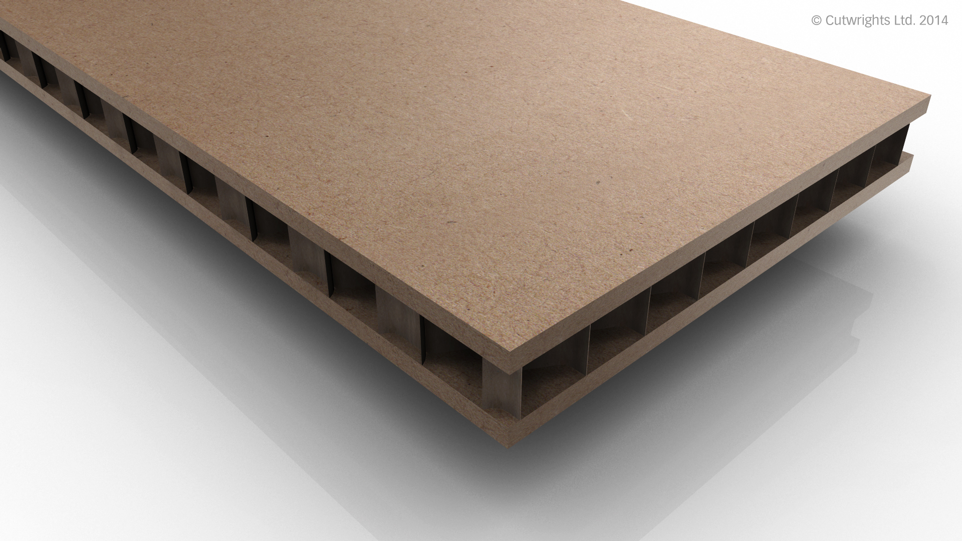 Mdf 22mm 22mm Raw Cw Lite Hollowcore Hollow Core Board Cutwrights