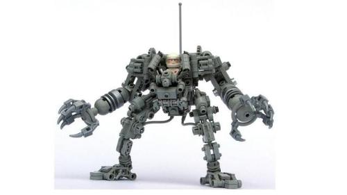 LEGO hardsuit by Pete Reid on CUUSOO