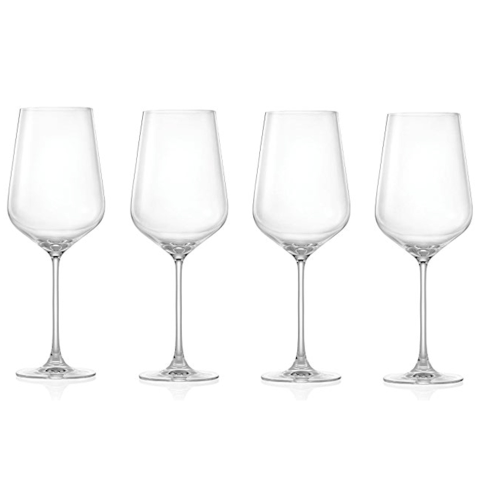 Wine Glasses Lucaris Crystal Bordeaux Wine Glass Set Of 4