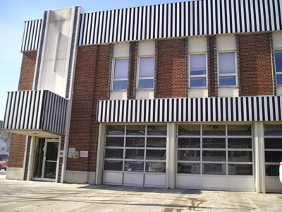 Fire Station #1 on Front Street in 2004