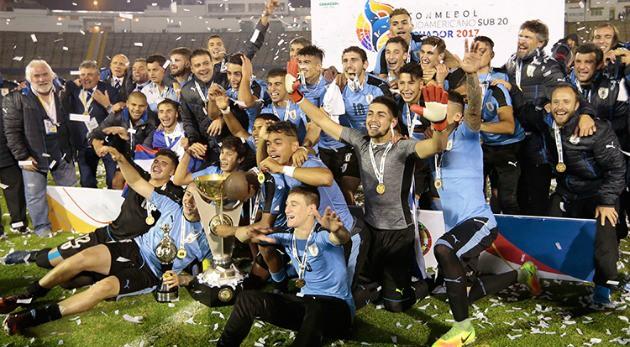 Uruguay, Ecuador, Venezuela y Argentina a Mundial Sub-20 de Corea del Sur