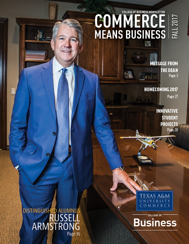 College of Business Newsletter Luminous Productions - business newsletter