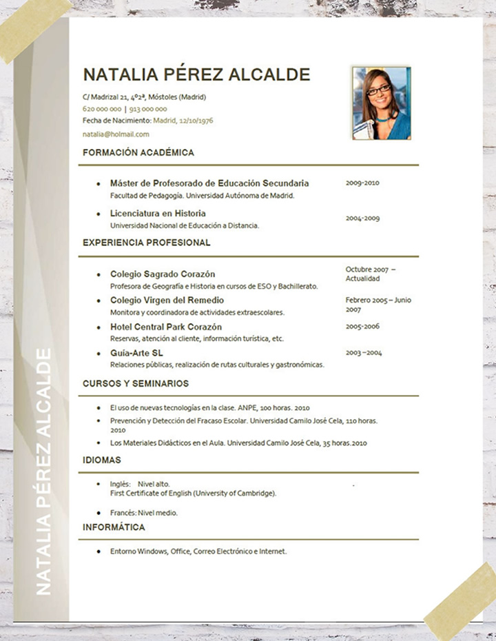 resume meaning korean