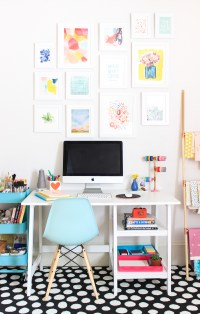 Office Makeover + DIY Storage Boxes - The Crafted Life