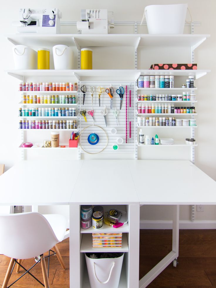 Bureau De Coin 8 Gorgeous Creative Workspaces - The Crafted Life