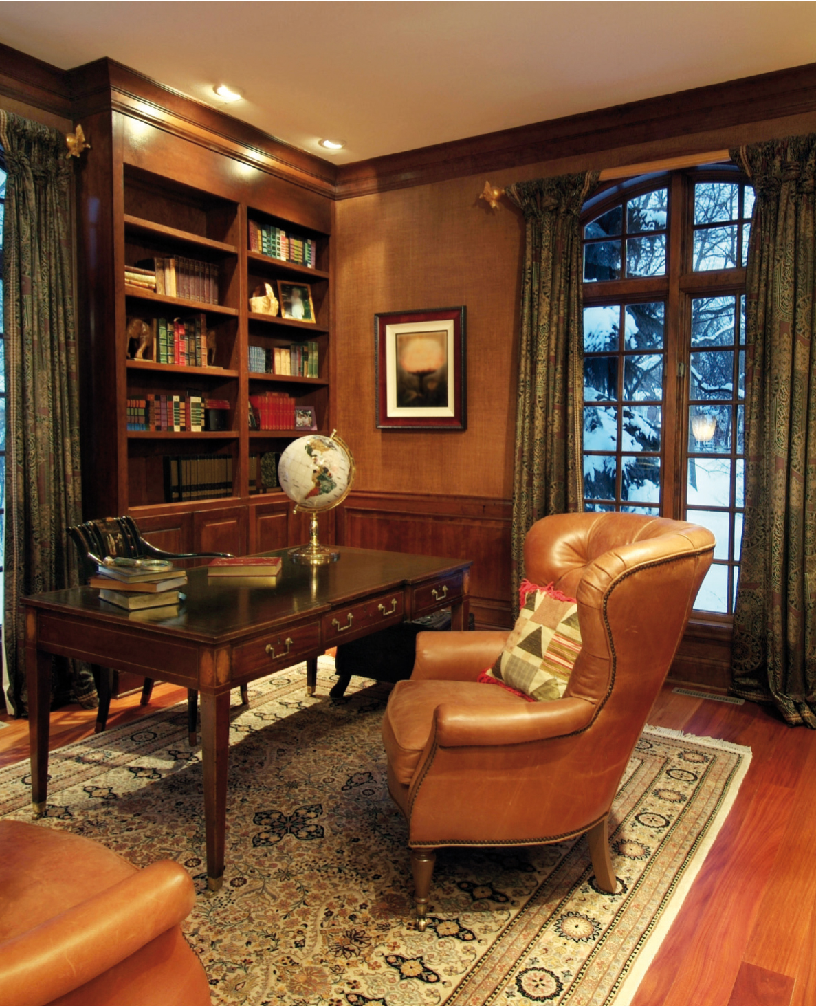 Classic Home Offices The Gentlemans Room Creating A Masculine Aesthetic