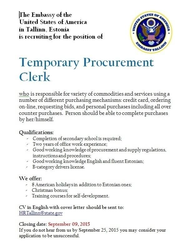 procurement clerk cover letter node2002-cvresumepaasprovider - procurement clerk sample resume