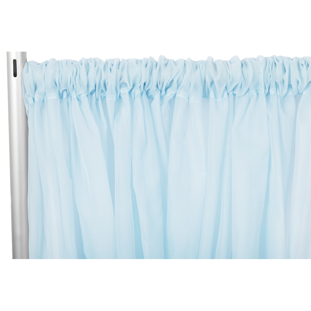 Draping Curtains Sheer Voile 12ft H X 118