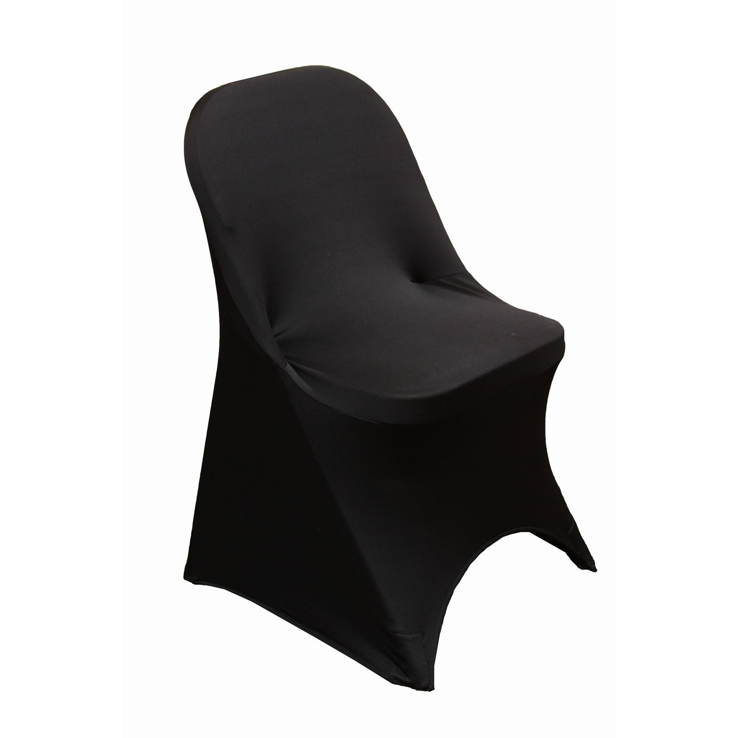 Chair Cover Folding Spandex Chair Cover Black