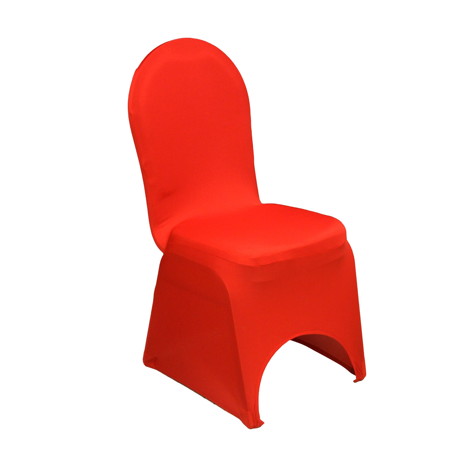 Chair Cover Spandex Banquet Chair Cover Red