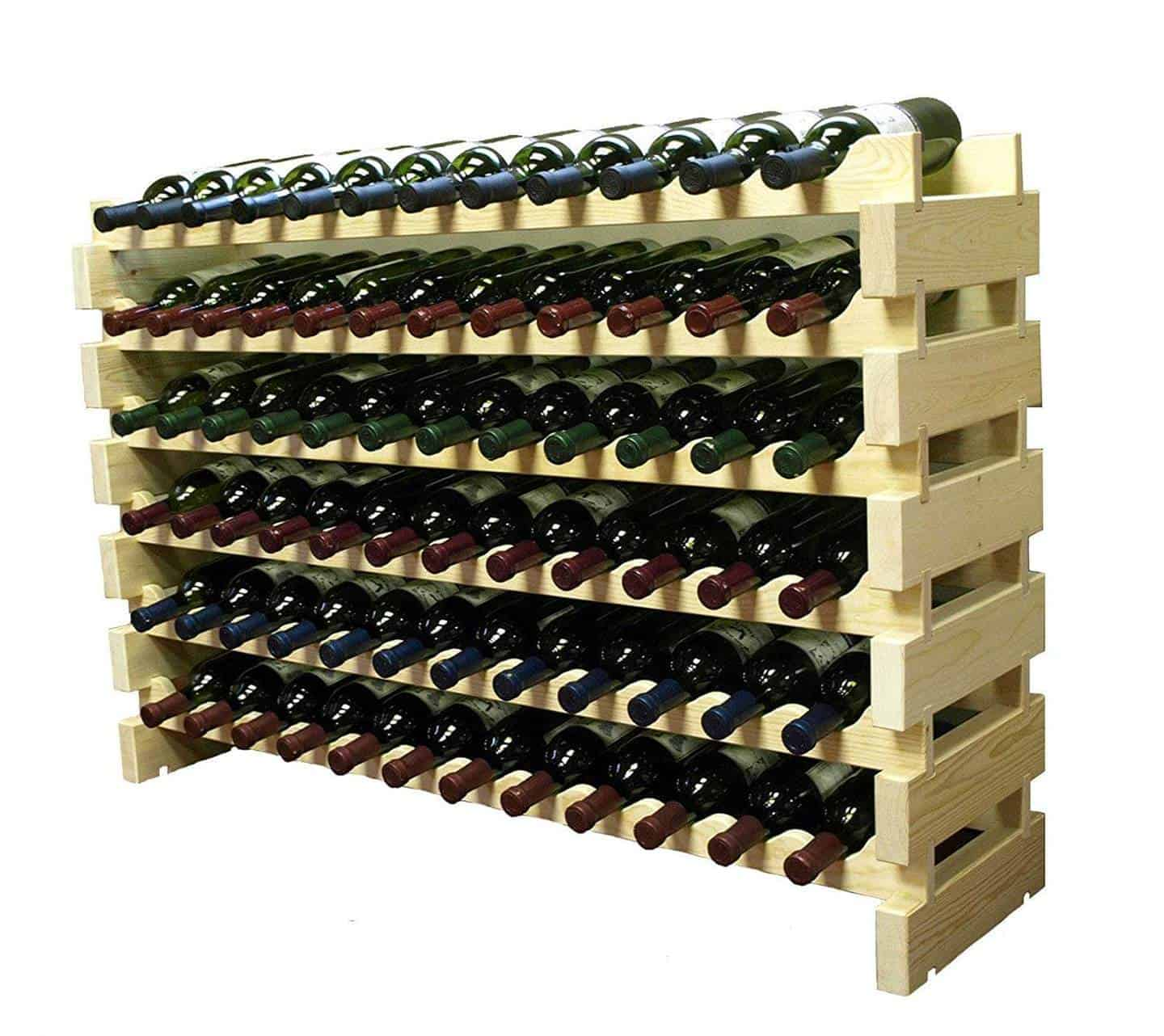 Wooden Bottle Rack Wooden Wine Racks Your Best Options California Winery Advisor