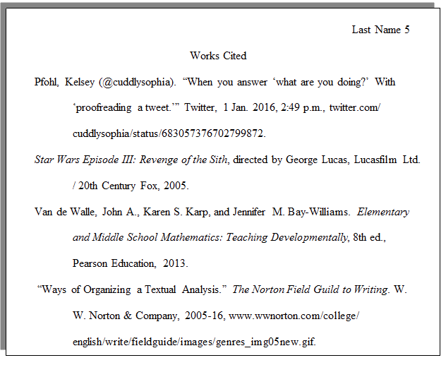 How Do I Set Up A Paper With Mla Formatting Cwi