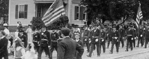 Union Veterans on Parade