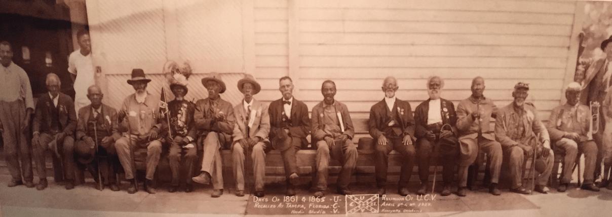 ex-slave, veterans reunion