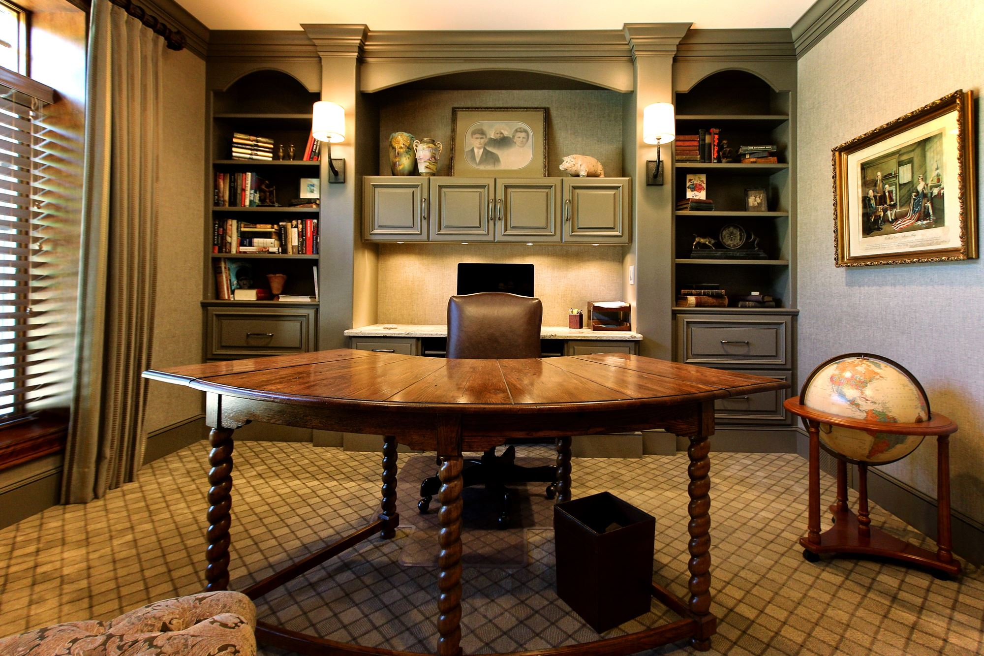 Design Regal Regal Office Gallery Custom Wood Products Handcrafted Cabinets