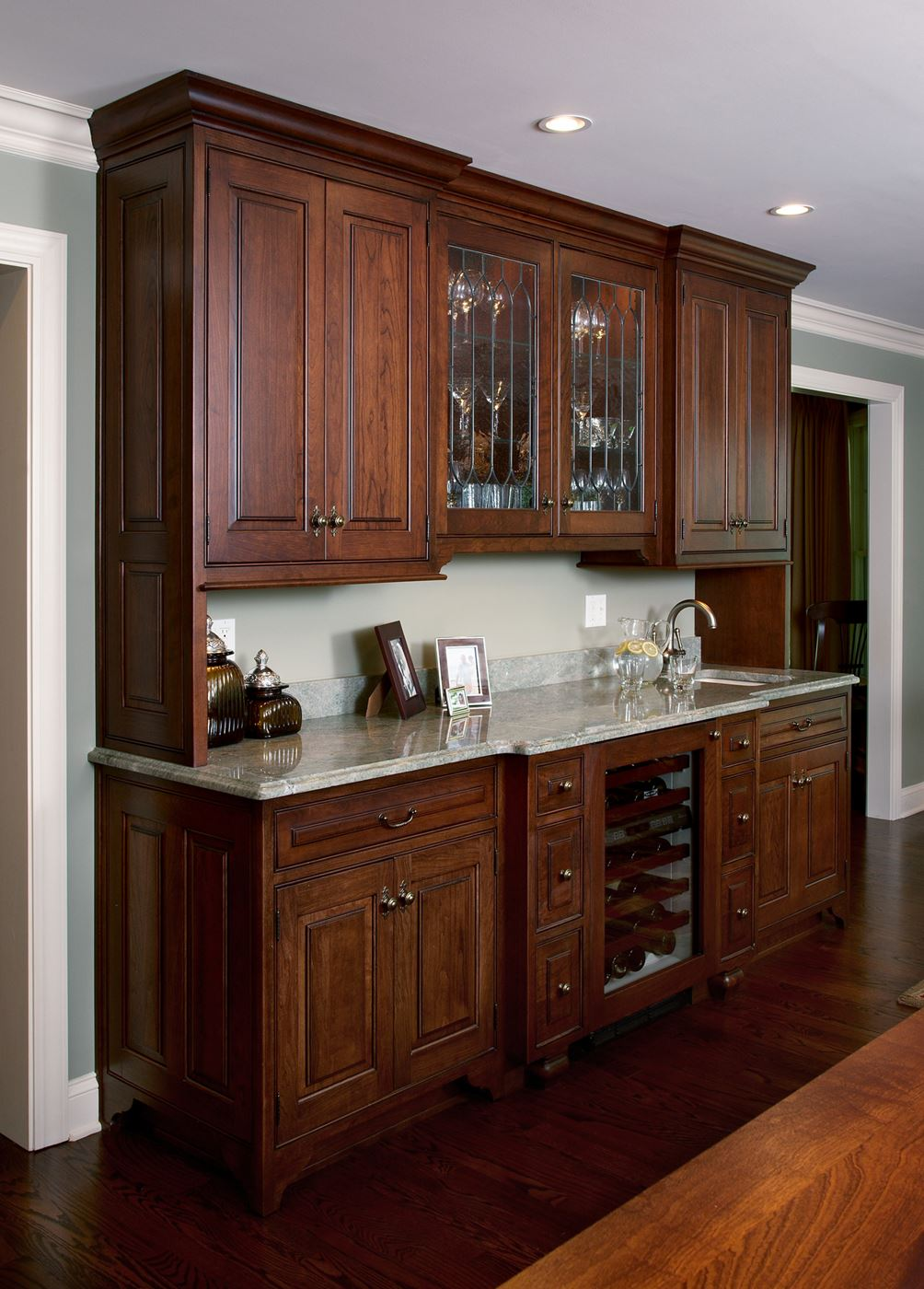 How To Change Kitchen Cabinet Color Wet Bar | Gallery | Custom Wood Products - Handcrafted