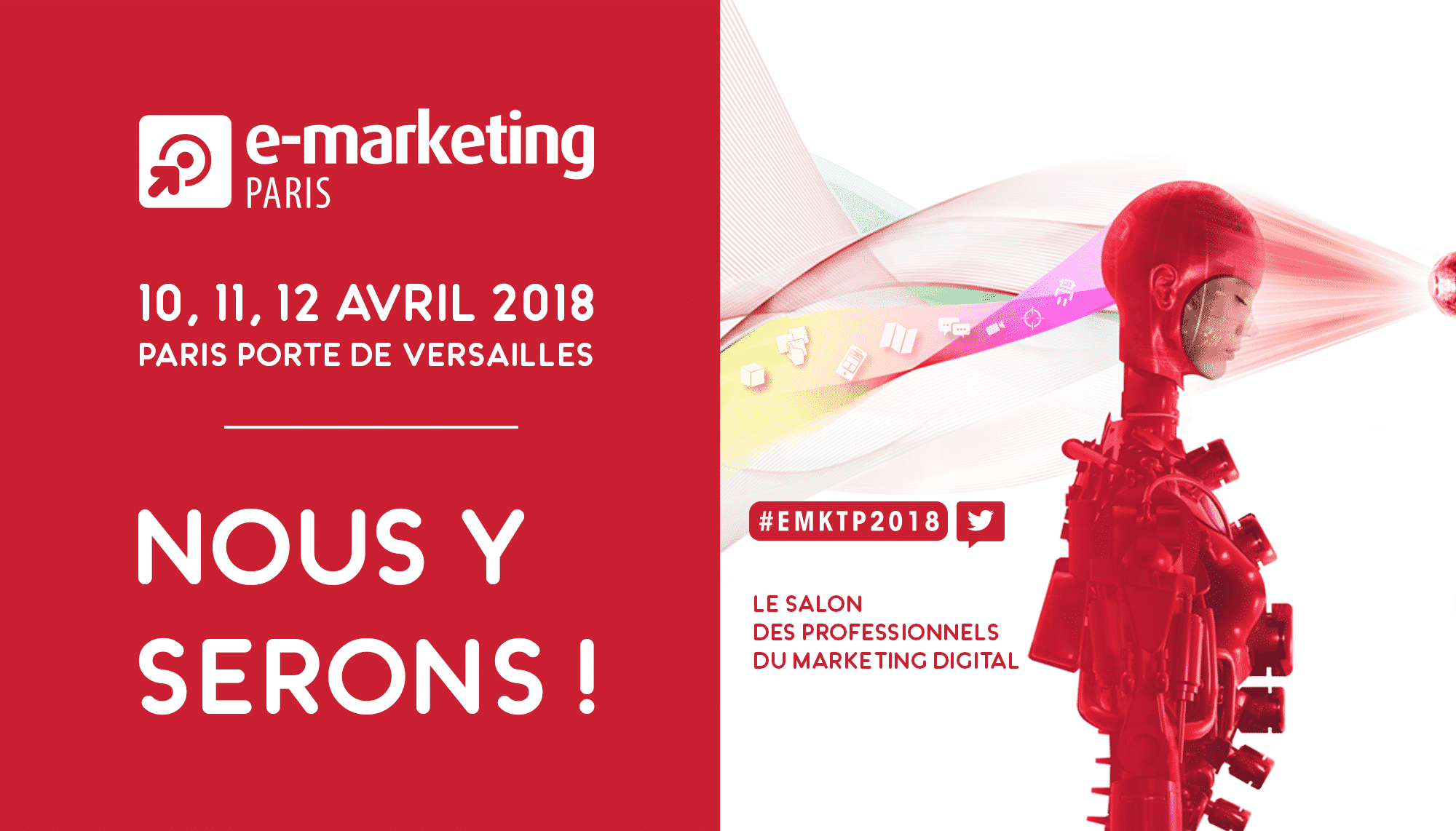 E Marketing Salon Salon E Marketing Paris 10 11 Et 12 Avril 2018
