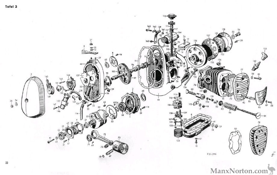 motorcycle engine diagram