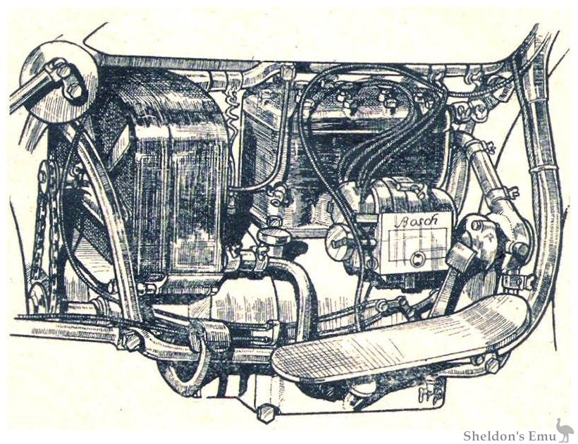 Garabello Four Cylinder Engine