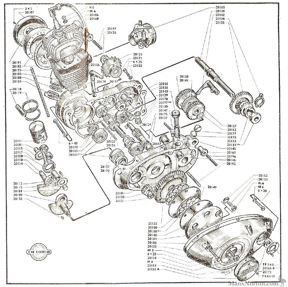 favorbenelli 49cc engine diagram