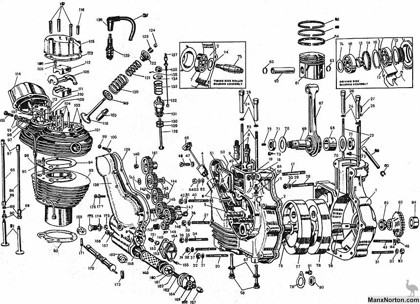 1930 harley davidson engine diagram