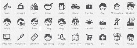 mySugr icons