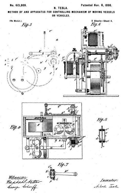 nikola tesla ac motor diagram