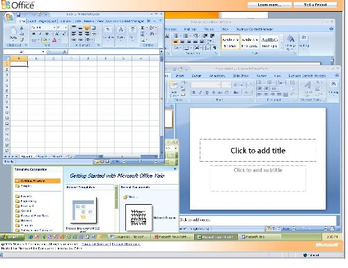 Microsoft Lets Users Test Drive Office 2007 Online